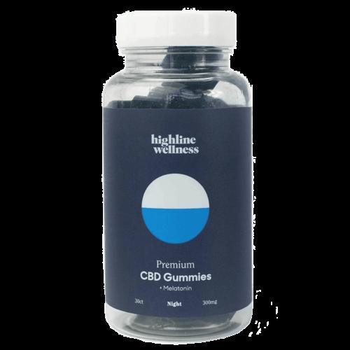 Highline Wellness CBD Melatonin Night Gummies