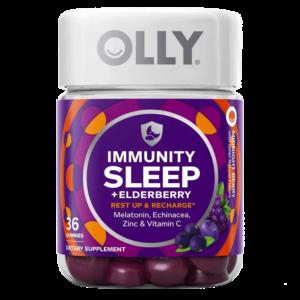 Olly Immunity Sleep Elderberry Gummies