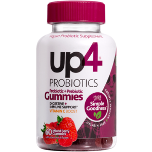 Up4 Prebiotic Probiotic Gummies