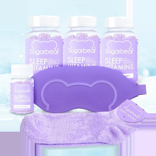 Sugarbearhair Holiday Sleep Bundle